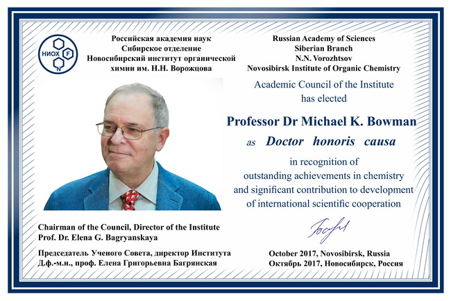 Doctor_honoris_causa_Prof_Michael_K_Bowman